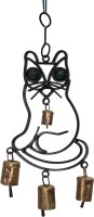 Boxmywish Cat Iron, Brass Windchime