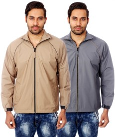 Truccer Basics Solid Men's Wind Cheater
