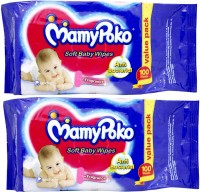 Mamy Poko Soft Baby Wipes (2 Pieces)