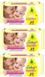Salang Aloveera Baby Wipes 25Pcs