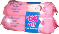 Johnsons Baby Skincare Wipes: Wipe