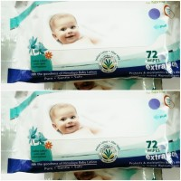 Himalaya Gentle Baby Wipes (2 Pieces)