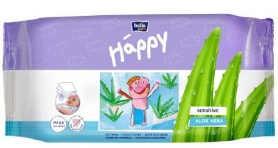 Bella Baby Happy Aloe Vera Sensitive Wet Wipes