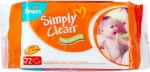Pampers Baby Simply Clean Wipes