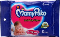 Mamypoko Soft Baby Wipes With Fragrance - 20 Sheets (1 Pieces)