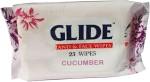 Glide Hand & Face Wipes Cucumber