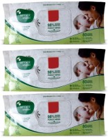 Mother Sparsh Baby Wipes (Pack Of 3) (3 Pieces)