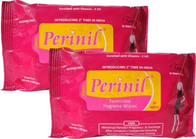 Perinil Wipes Refreshing Feminine Vaginal Wet Tissues