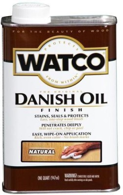 WATCO A65741 Natural, Danish Oil Wood Varnish