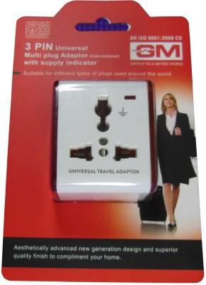 GM 3049 Worldwide Adaptor best price on Flipkart @ Rs. 72