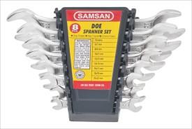 DOE Open End Spanner Set (8 Pc)