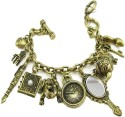 Charisma Bronze Charm Bracelet Women - Multi-color, Pack Of 1