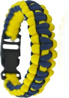 Aero Sport Super Hero Colors Navy Blue And Yellow Style Rope Survival Men, Boys Wrist Band - WTBDWKGERCAKZX4U