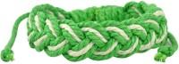 Alphaman Green Grass Men Wrist Band (Green, White, Pack Of 1)