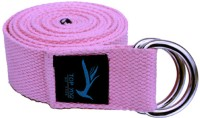 Top Yogi Belt Cotton Yoga Strap (Pink)