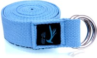 Top Yogi Belt Light Cotton Yoga Strap (Blue)