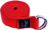 Top Yogi Belt Crimson Cotton Yoga Strap (Red)