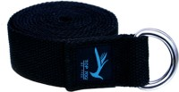 Top Yogi Belt Cotton Yoga Strap (Black)
