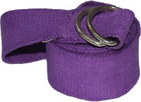 TAPAS TYS009 'D' Ring Buckles Cotton Yoga Strap (Purple)