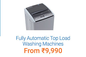Fully Automatic Top Load Washing Machines Starting at Rs. 9990