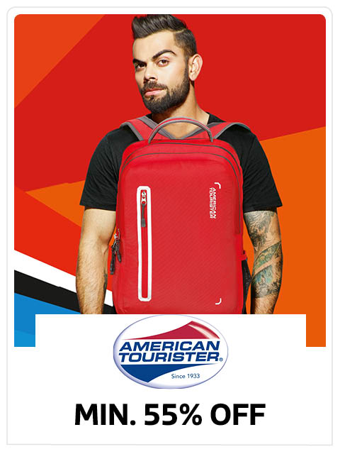 Minimum 55% Off on American Tourister