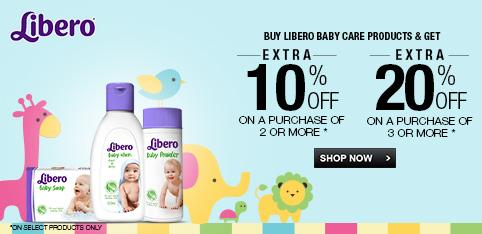 Libero - Extra 20% Off