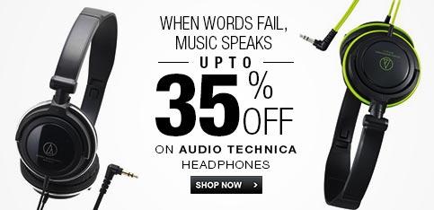 Audio Technica - Upto 35% Off