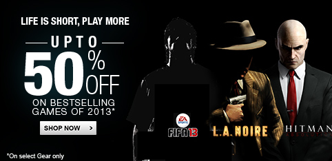 Bestselling Games - Upto 50% off