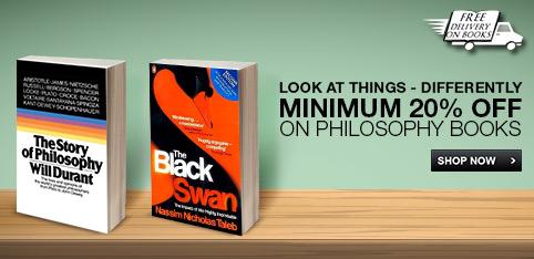 Minimum 20 % Off on Philosophy Books