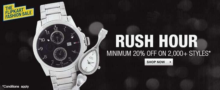 Watches - Minimum 20% off