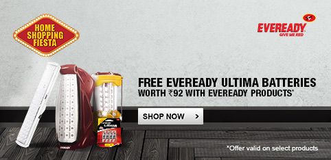 Eveready REL Lights - Free Eveready 4AA Battery