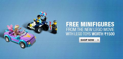Lego toys - Free Minifigure