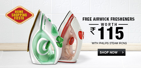 Philips Iron - Free Room Freshners