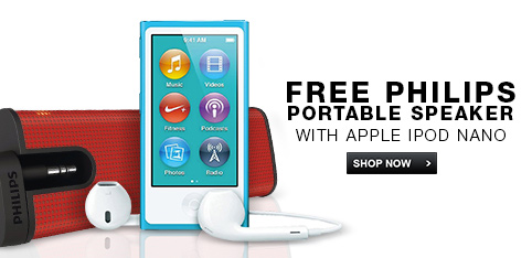 iPods - Free Philips portable speaker