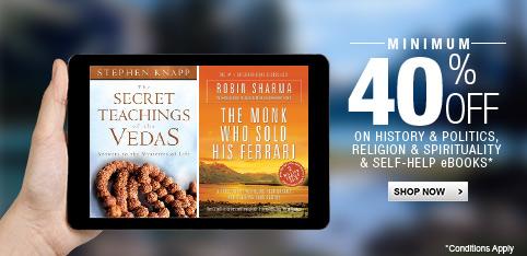 Select eBooks - Minimum 40% off