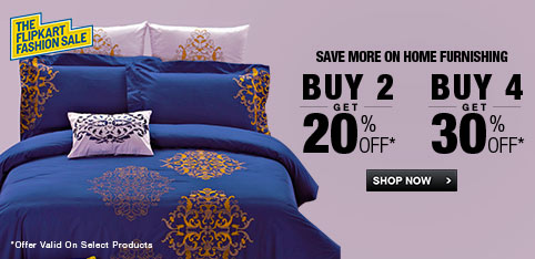 Home Furnishing - Extra 30% Off