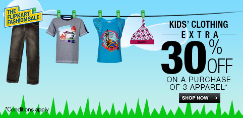 Kid's Clothing - Extra 30% off