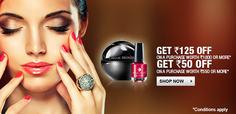 Lakme - Extra Rs.125 off