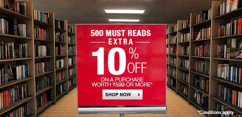 500 Must Read Books - Extra 10% Off