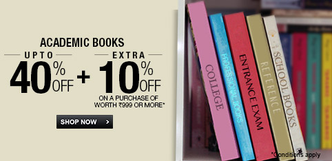 Select Academic Books - Upto 40% + Extra 10% off