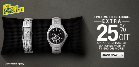 Watches - Extra 25% Off