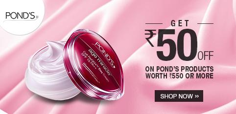 Ponds - Extra Rs.50 Off