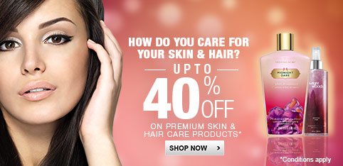 Premium Skin and Hair Care - Upto 40% off