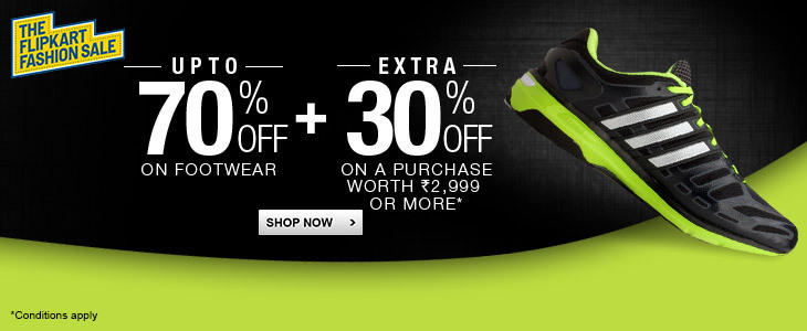 Flipkart Weekend Fashion Sale - UPTO 75% OFF + UPTO 30 % OFF On Footwear, Clothing, Watches & More From Flipkart.com