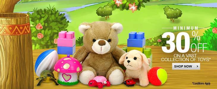Toys Discount: More than 30%