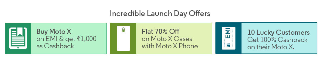 Moto X priced at Rs 23999,Realeasing on 19th March on Flipkart