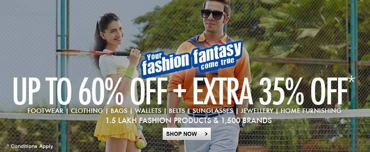 Upto 60% Off-Fashion Sale