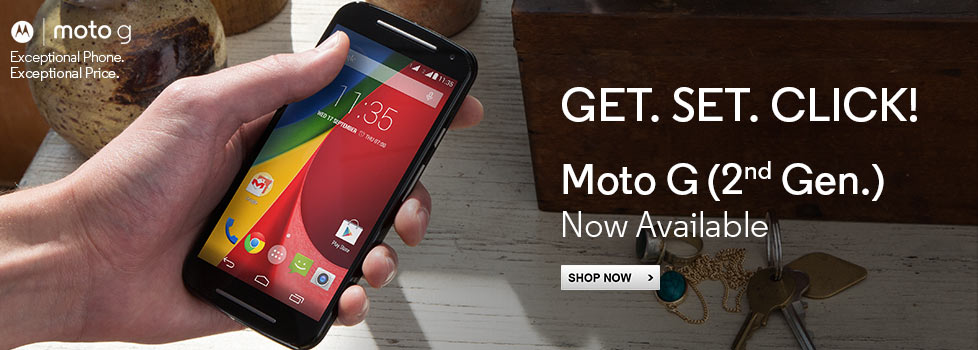 Moto G, Available Now