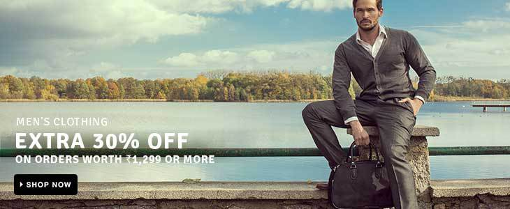 Men's Clothing - EXTRA 30% OFF