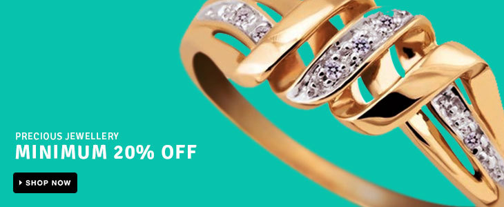 MINIMUM 20% OFF on Precious Jewellery